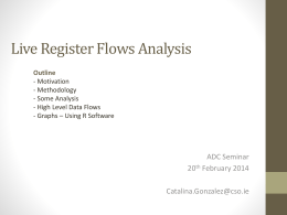 3.30 Compiling Live Register Flows Catalina Gonzalez, CSO