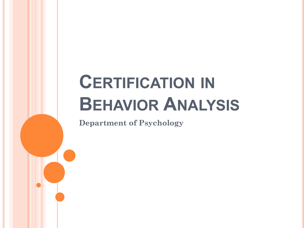 Certification in behavior analysis xflitez Images