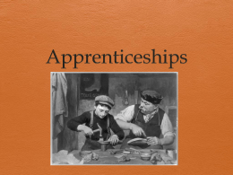 Apprenticeships - Hackettstown Board of Education