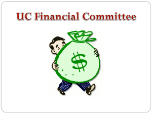 Getting a UC grant - Harvard Undergraduate Council