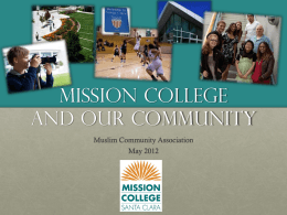 Mission College and Our Community
