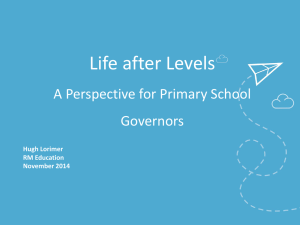 Life after Levels Powerpoint Presentation