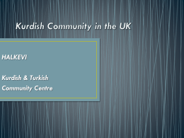 Kurdish Community in the UK