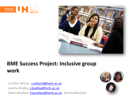 Multicultural Group Work - StudyNet
