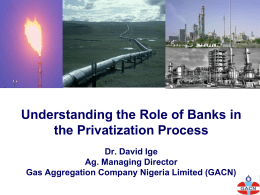 Understanding the Role of Banks in the Privatisation Process