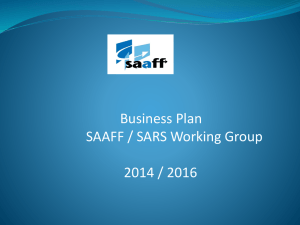 SARS CUSTOMS MODERNISATION