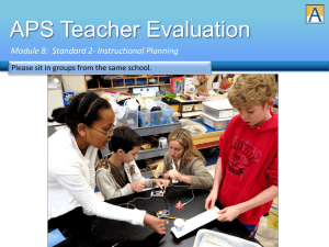 APS Teacher Evaluation - Arlington Public Schools