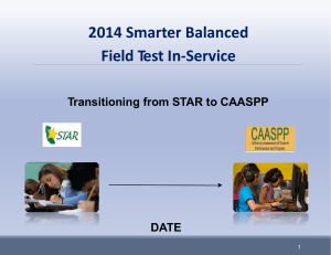 2014 Teacher CAASPP PPT