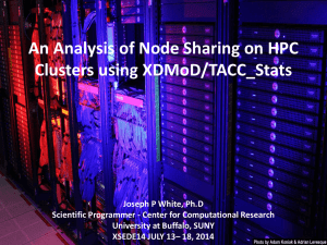 An Analysis of Node Sharing on HPC Clusters using