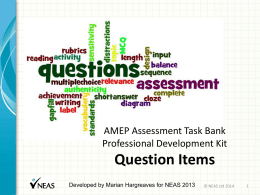 Assessment in the CSWE Professional Development Kit xx