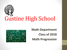 Gustine High School - Gustine Unified School District