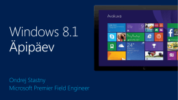 What*s new in Windows 8.1 for Developers