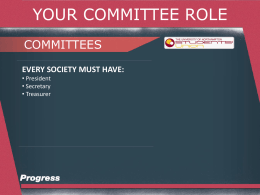 Committee - Students` Union