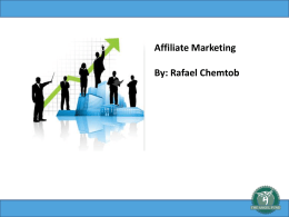 Affiliate Marketing By