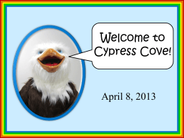 How Exciting! - Cypress Cove Elementary School