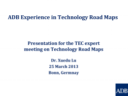 Experiences from developing and using technology