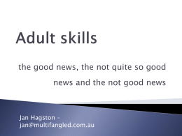 Adult skills - Public Libraries Connect