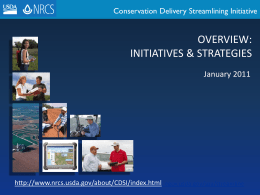 CDSI Overview Slides Brief Jan 2011