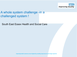 South East Essex Health and Social Care