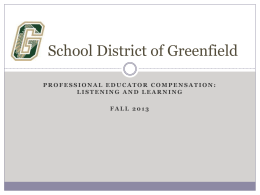 here - School District of Greenfield
