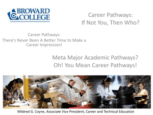 Career & Technical Education - Florida Association of Colleges