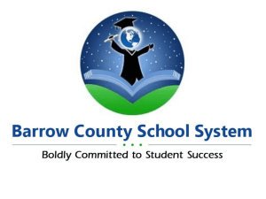 Barrow County Accreditation Module Overview