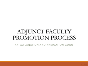 How Adjuncts Move Up