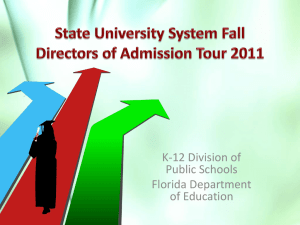 DOE_K_12 - State University System of Florida