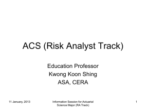 ACS (Risk Analyst)