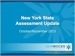 Slides - OCM Boces