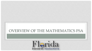 Florida Standards Assessments