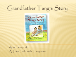 Grandfather Tang`s Story