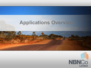 The NBN Explained 3 of 3 - Regional Development Australia