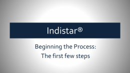 The first items that a process manager should do in the