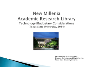 New Millennia Academic Research Library