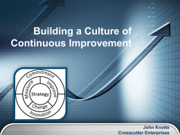Building a Culture of Continuous Improvement