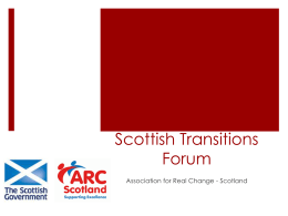 Scottish Transitions Forum