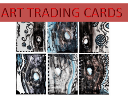 art trading cards - Glasgow Independent Schools