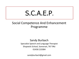 Sandy Burbach 2012 Talk