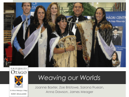 Weaving our worlds: Māori learner outcomes from
