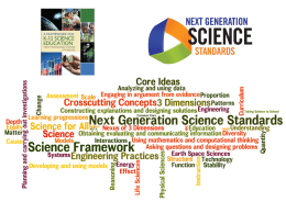 NGSS PowerPoint April 2014