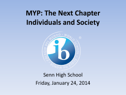 MYP Workshop Individuals and Society REV CT Jan 23