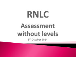 Assessment 8th October 2014 – PowerPoint
