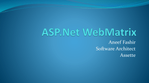 3  Introduction to ASP NET MVC 4x