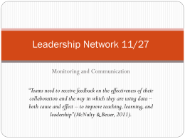 Leadership Network [ppt]