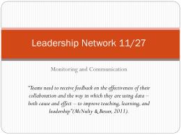 Leadership Network [ppt]