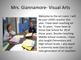 Meet the Teacher - Great Oak Middle School