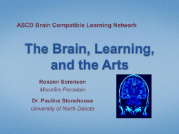Art? - Brain Compatible Learning