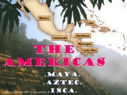 The Americas - My Teacher Site