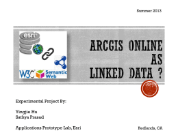 ArcGIS Online as Linked Data